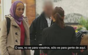 Una cámara oculta capta reacciones racistas